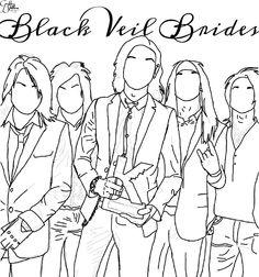 FanArt (Drawing) of Black Veil Brides