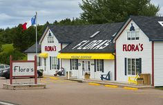 Flora's Gift Shop – on the Cabot Trail Oh The Places You'll Go, Places Ive Been, Nova Scotia Travel, Acadie, Cabot Trail, East Coast Travel, Atlantic Canada, Canadian Travel, Cape Breton