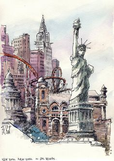 New York-New York by renefijten, via Flickr - René Fijten