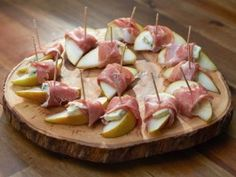 Pear with Prosciutto and Gorgonzola from CookingChannelTV.com