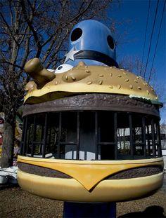 1970s McDonald's playground equipment