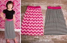 Little girls maxi skirt