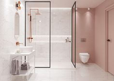 amazing bathroom design ideas for you to copy 10 ~ mantulgan.me amazing bathroom design ideas for. Bad Inspiration, Bathroom Inspiration, Bathroom Ideas, Budget Bathroom, Bathroom Designs, Interior Inspiration, Bathroom Design Luxury, Modern Bathroom, Bathroom Pink