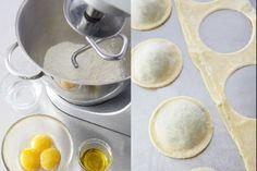 Recette de Pâte à raviole maison, Une pâte qui vous servira à réaliser aussi bien vos tagliatelle maison que de délicieux raviolis.