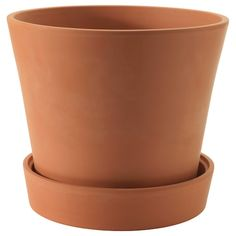 INGEFÄRA Plant pot with saucer - outdoor terracotta - IKEA IKEA - Ginger Plant pot with saucer outdo Easiest Flowers To Grow, Easy Plants To Grow, Terracota, Outdoor Planters, Planter Pots, Indoor Outdoor, Ikea Outdoor, Fall Planters, Ginger Plant