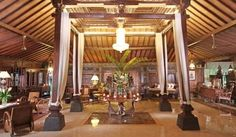 Spacious lobby with a typical architecture of ancient Javanese is iconic of Joglo Plawang Boutique Villa. Detail info: 0813 1072 0446
