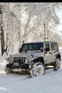 Jeep in any kind of weather!