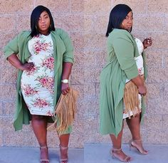Inspired: We Love the Bodycon and Cardigan Combo- Do You? http://thecurvyfashionista.com/2017/05/bodycon-cardigan-plus-size-style/  Are you a fan of the bodycon and cardigan combo? We are and we picked out a few of our favorite plus size bodycon and cardigan combinations. Take a look for some inspiration!