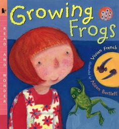 Growing Frogs: Read and Wonder Vivian French 0763620521 9780763620523 Part picture book for pleasure reading . and part practical how-to, this dramatic account is the next best thing to setting up a hatchery of your own. Lifecycle Of A Frog, Nature Story, Frog Life, Frog And Toad, Science Lessons, Science Ideas, Amphibians, Reptiles, Little Books