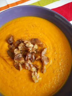 Velouté à la carotte et à la châtaigne | En cuisine... avec Myl !