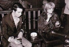 Viv with Sid Vicious, 1977