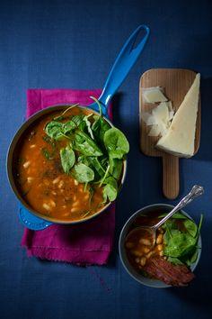 Quick Tuscan Bean Soup