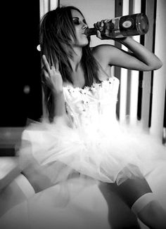 there's a little bit of this bad girl ballerina in every woman. this question is whether we let her out.