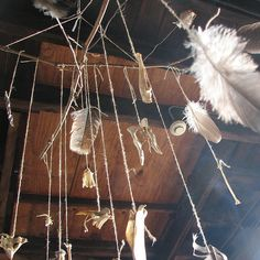 feather and bone mobile