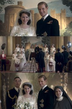 "Elizabeth's Wedding Day, ""The Crown,"" Netflix"