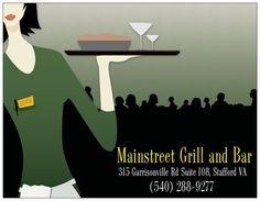 Mainstreet Grill and Bar, Stafford VA
