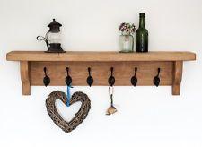 Look on ebay for reclaimed wood shelves
