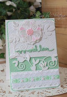 Romantic Vines - With Love Card | Spellbinders