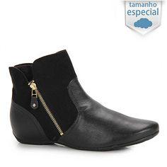Ankle Boots Comfortflex 14-91302G Num 41 E 42 - Preto