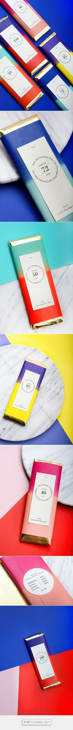 Luxury Chocolate Series by Maria Le Quang / concept /