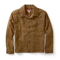 Filson Short Cruiser Jacket (Tan) Seattle fit, Made in USA