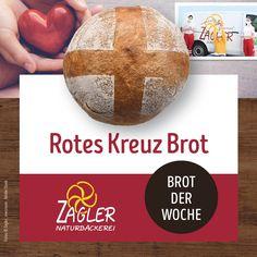 """Kennt ihr schon unser """"Rotes Kreuz Brot""""? 🤩 Es schmeckt nicht nur super lecker, wir s p e n d e n pro verkauftes Laib 1 € an das Rote Kreuz ❗️ Was gibt es besseres, als mit Genuss etwas Gutes zu tun? 🤗 ➡️ Kommt vorbei und probiert unser Brot der Woche.  #zagler #zaglernaturbäckerei #naturbäckerei #brotderwoche #roteskreuz #wirspendenfüreinengutenzweck #roteskreuzbrot Super, Red Cross, Crosses, Brot"""