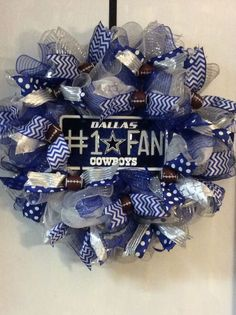 #Dallas Cowboys Wreath from $60.0