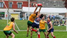 How victim of Bataclan Theatre terror attack got is Aussie AFL wish -  The AFL game between the Australian Spirit Team and France for the AFL Europe ANZAC Cup. Picture: Alastair Miller