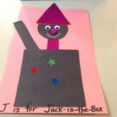 J is for Jack-in-the-box