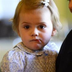 Princess Estelle of Sweden, Duchess of Ostergotland May 17, 2014