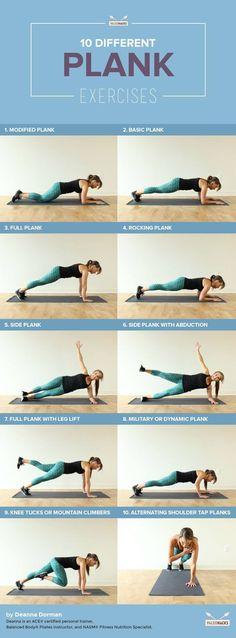 séances de gainage: 10 Exercices de Gainage Pour Un Ventre Plat (séances abdos) Comment faire la Planche de Base (pour débutant)
