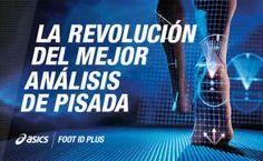 Vuelve el mejor análisis de pisada, el revolucionario ASICS Foot ID Plus.