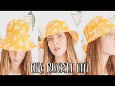 GORRO PESCADOR /BUCKET HAT PATRONES GRATIS - YouTube