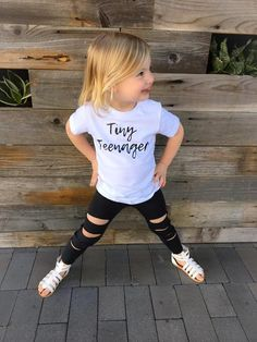 a4a336f4a569d Ripped Black Leggings. Distressed LeggingsRipped LeggingsBlack  LeggingsToddler LeggingsAll Black OutfitToddler Girl ...