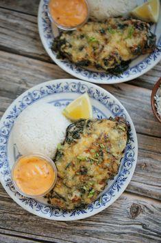 Kip met ricotta en spinazie | Kookmutsjes Poultry, Eggs, Yummy Food, Meat, Food Ideas, Breakfast, Recipes, Knots, Spinach