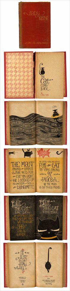 Font Love, Lady Rene.  Designer and Illustrator Laura Varsky
