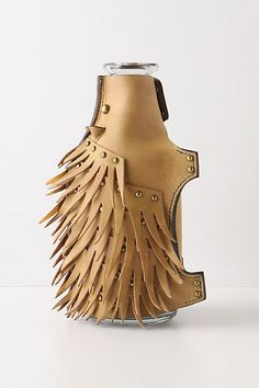 how cute.. leather porcupine carafe...anthropologie... must find