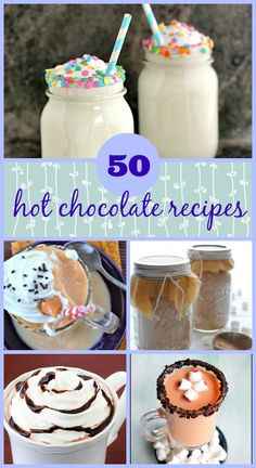 50 Hot Chocolate Recipes on RachelCooks.com