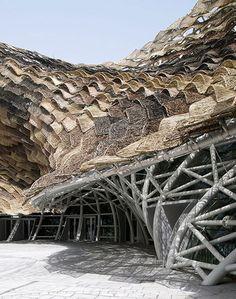 SPANISH PAVILION MIRALLES TAGLIABUE ARCHITECTS