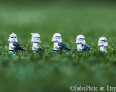 Star Wars™ LEGO® Stormtrooper 'Marching in Grass' Photograph Print 7x5, 8x10 or 20x16 Wall Art Home Decor