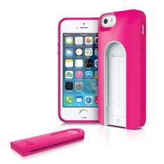 Repin to WIN! Selfy™ (AI5SELF) iPhone 5/5s case with a built-in wireless camera shutter #iLuv #Back2School