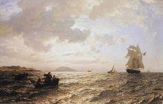Hans Gude - Frisk bris (1876). jpg (809×519)