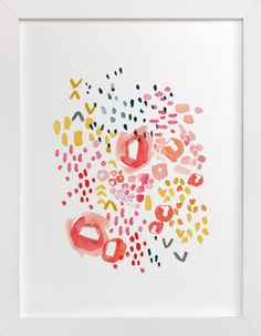 Gesture by Kelly Ventura at minted.com