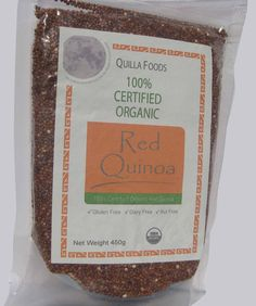 ORGANIC QUINOA RED SEED 450G GLUTEN AND ALLERGEN FREE, FREE SHIPPING For $16.95 you can order this on Ebay delivered to you for free. Also can combine with other retail packets and get combined shipping discounts. For example, if you buy one product worth $10 and another product worth $12, then we will charge $18.50, saving you $3.50 off the final value. Please let us know if you wish to combine your orders.