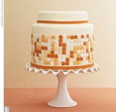 No matter if you prefer elegant, simple, or unique wedding cake designs you will be blown away by our list of amazing wedding cakes. Pretty Wedding Cakes, Amazing Wedding Cakes, Wedding Cake Designs, Amazing Cakes, Polka Dot Cakes, Polka Dots, Elegant Cake Design, Happy Wedding Day, Cupcakes