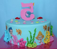 Bubble Guppies cake 3 / Taart
