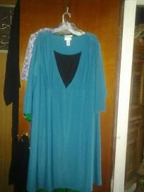 Dress size 22 w spandex for woman very good it is new without tag free shipping for 22.99