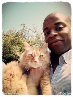 Dulé Hill and Mrs. Psych Memes, Psych Quotes, Shawn And Gus, Shawn Spencer, I Cant Do This, Boy Cat, Great Tv Shows, Cat People, Nerd Geek