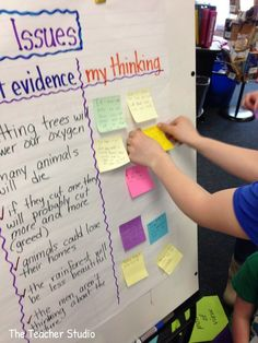 An easy way to help students track key information from a text AND track their reactions to the text.