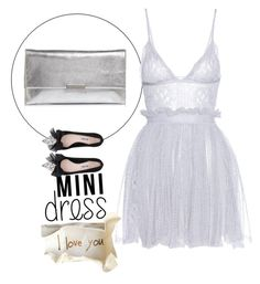 """""""mini dress"""" by wendy-737 on Polyvore featuring Alexander McQueen, Miu Miu and Loeffler Randall"""